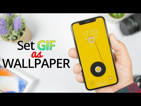 Set Any GIF As A LIVE IPhone Wallpaper - 2019 !