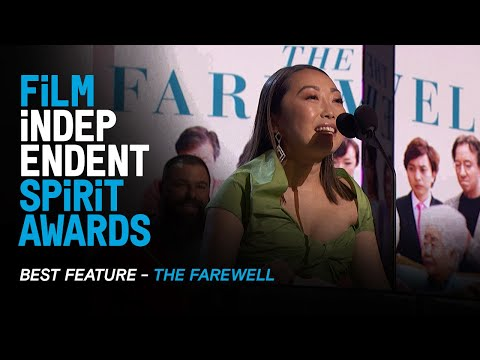 THE FAREWELL wins BEST FEATURE at the 35th Film Independent Spirit Awards.