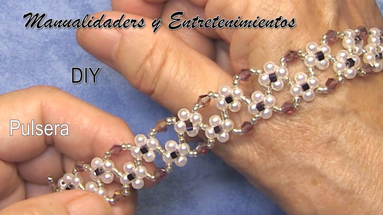 DIY  - Pulsera Claudia - - Claudia bracelet - - سوار كلوديا -- Браслет Claudia -- pulseira Claudia -