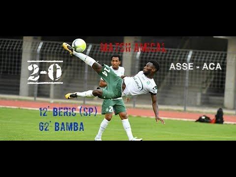2ème match amical de l'été : ASSE - AC AJACCIO 2-0