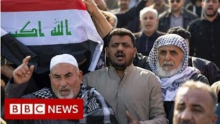 Qasem Soleimani: Stampede kills 40 mourners at burial in Iran   - BBC News