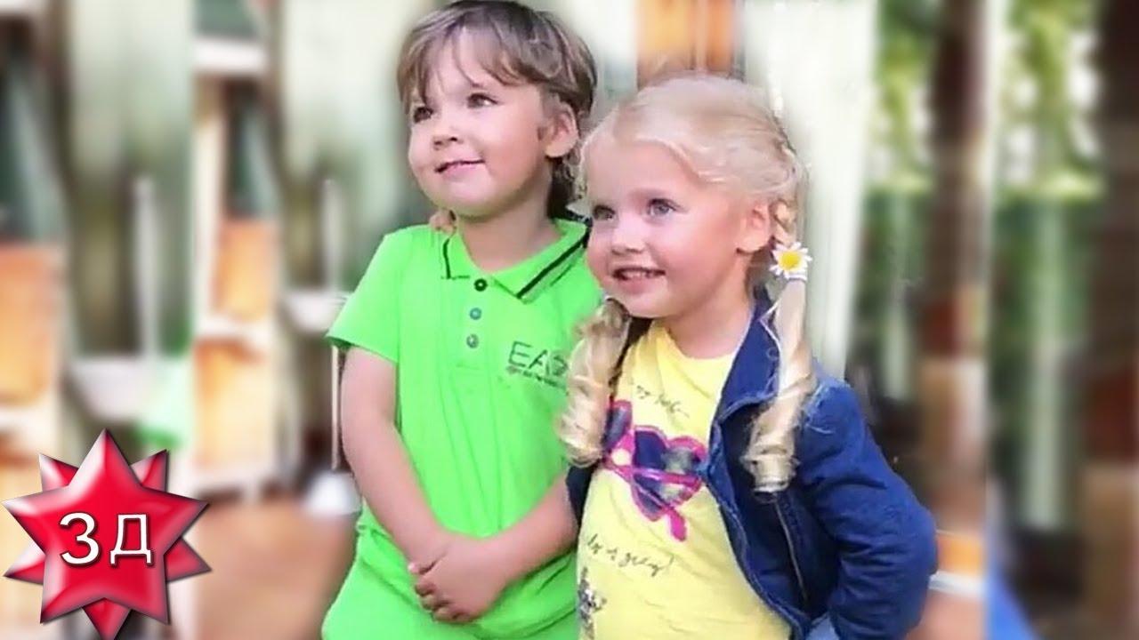 ДЕТИ ПУГАЧЕВОЙ И ГАЛКИНА: Лизе и Гарри - 4 года ...