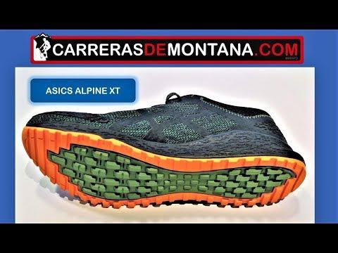zapatillas de trail running de mujer alpine xt asics