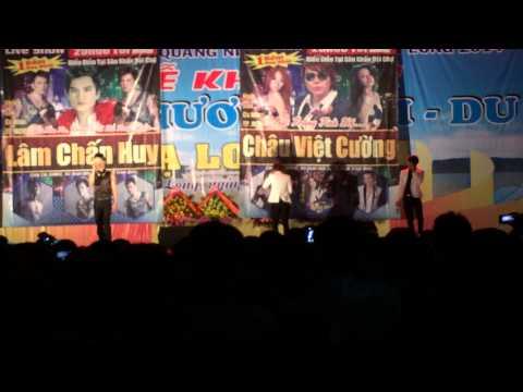 HKT biểu diễn tại Hội chợ Hạ Long 25 - 4 - 2014