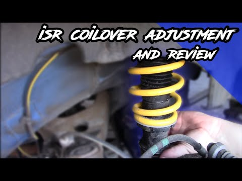 ISR Coilover Adjustment and Review (Wheel Spacer Fail)