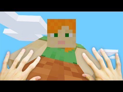 REALISTIC MINECRAFT - GIANT ALEX!