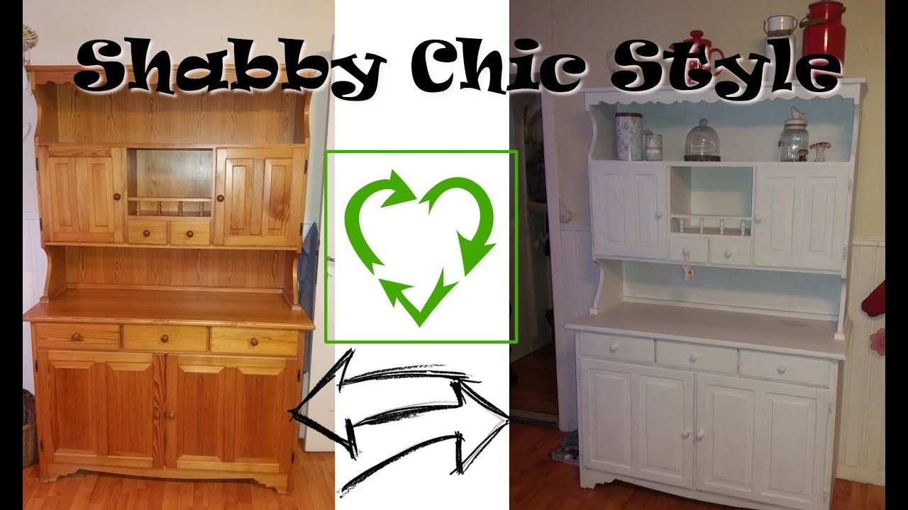 diy m bel im shabby chic style streichen ohne anschleifen upcycling youtube. Black Bedroom Furniture Sets. Home Design Ideas