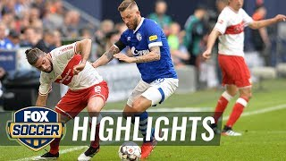 FC Schalke 04 vs. VfB Stuttgart | 2019 Bundesliga Highlights
