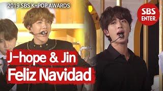 '대부 요정의 마법♬' 진&제이홉의 'Feliz Navidad' | 2019 SBS 가요대전(2019 SBS K-POP AWARDS) | SBS Enter.