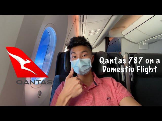 QANTAS 787 PREMIUM Economy Class: QF847 Darwin to Sydney