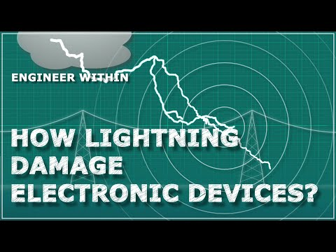 How Lightning Damage Electronic Devices? Why Lightning Damage Electronics?