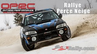 OPRC 2015 - Rallye Perce Neige