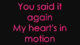 Katharine Mcphee- Terrified lyrics featuring Zachary Levi