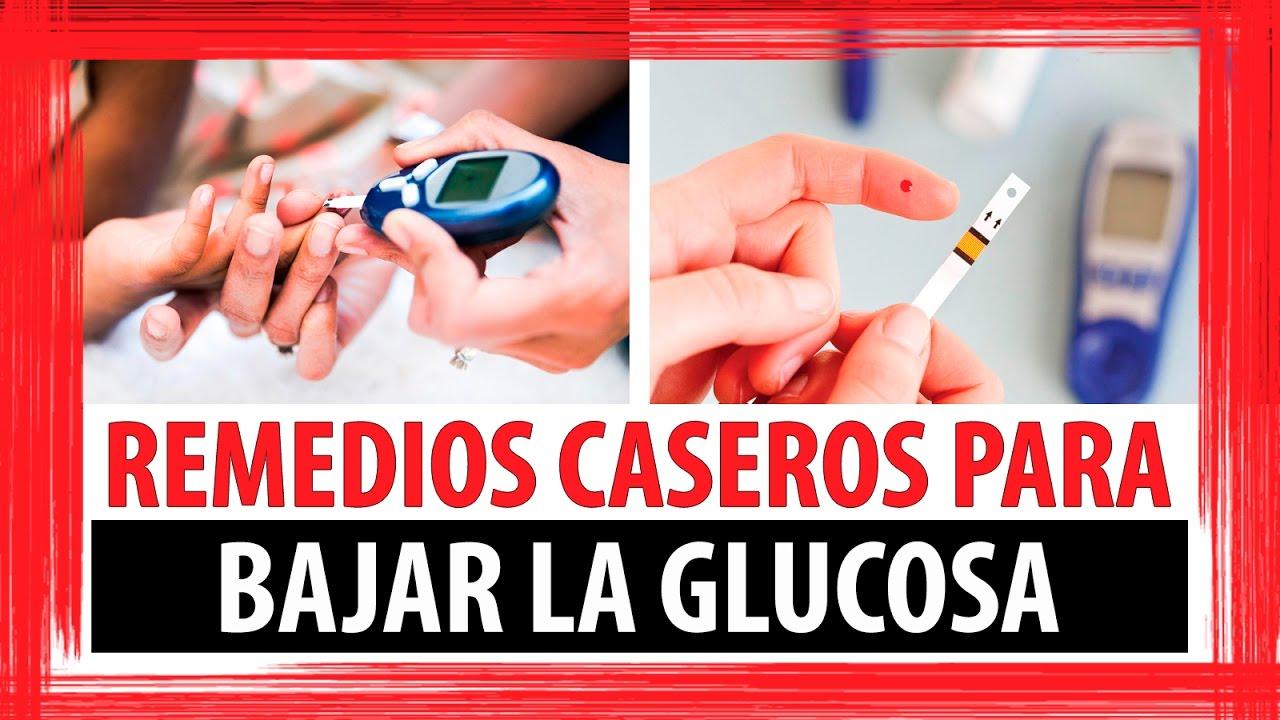 REMEDIOS CASEROS PARA BAJAR LA GLUCOSA O AZUCAR EN SANGRE