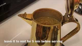 How To Make Arabic Coffee (Saudi Style)