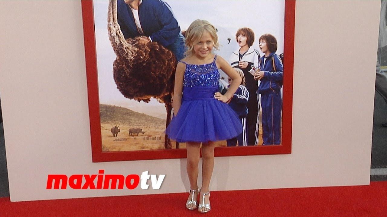 Alyvia Alyn Lind BLENDED Los Angeles Premiere RED CARPET ...