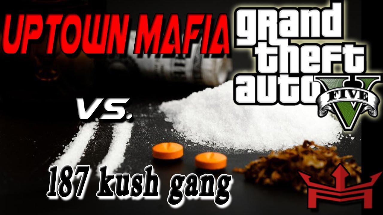 Gta5 online crewbattle uptown mafia vs 187x kush gang youtube - Idee schilderij gang ingang ...