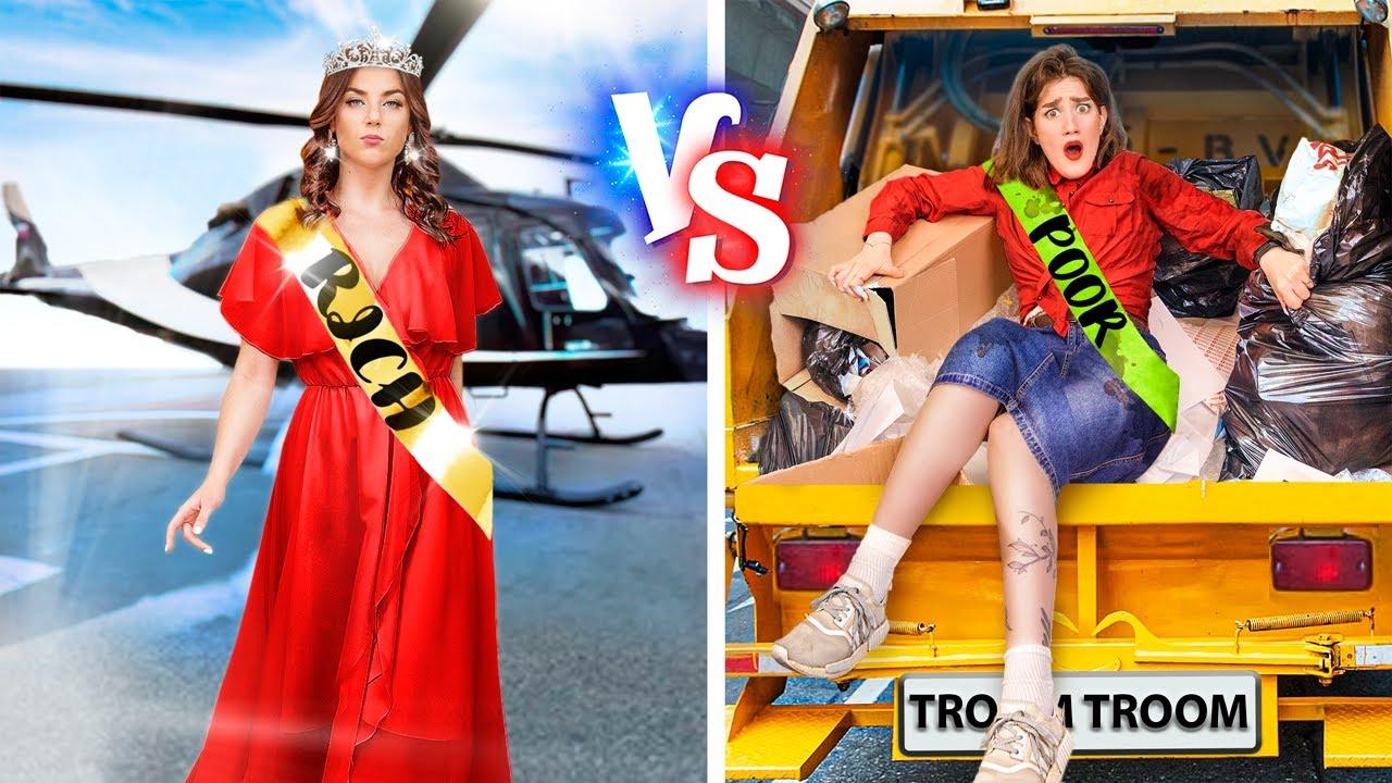Estudiante Rico vs Estudiante Pobre en su Graduación / ¡Graduación Rica vs Pobre!