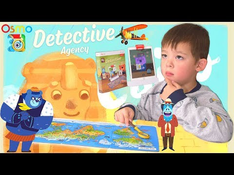 *NEW*OSMO Detective Agency Game! Solve Mysteries Around The World !