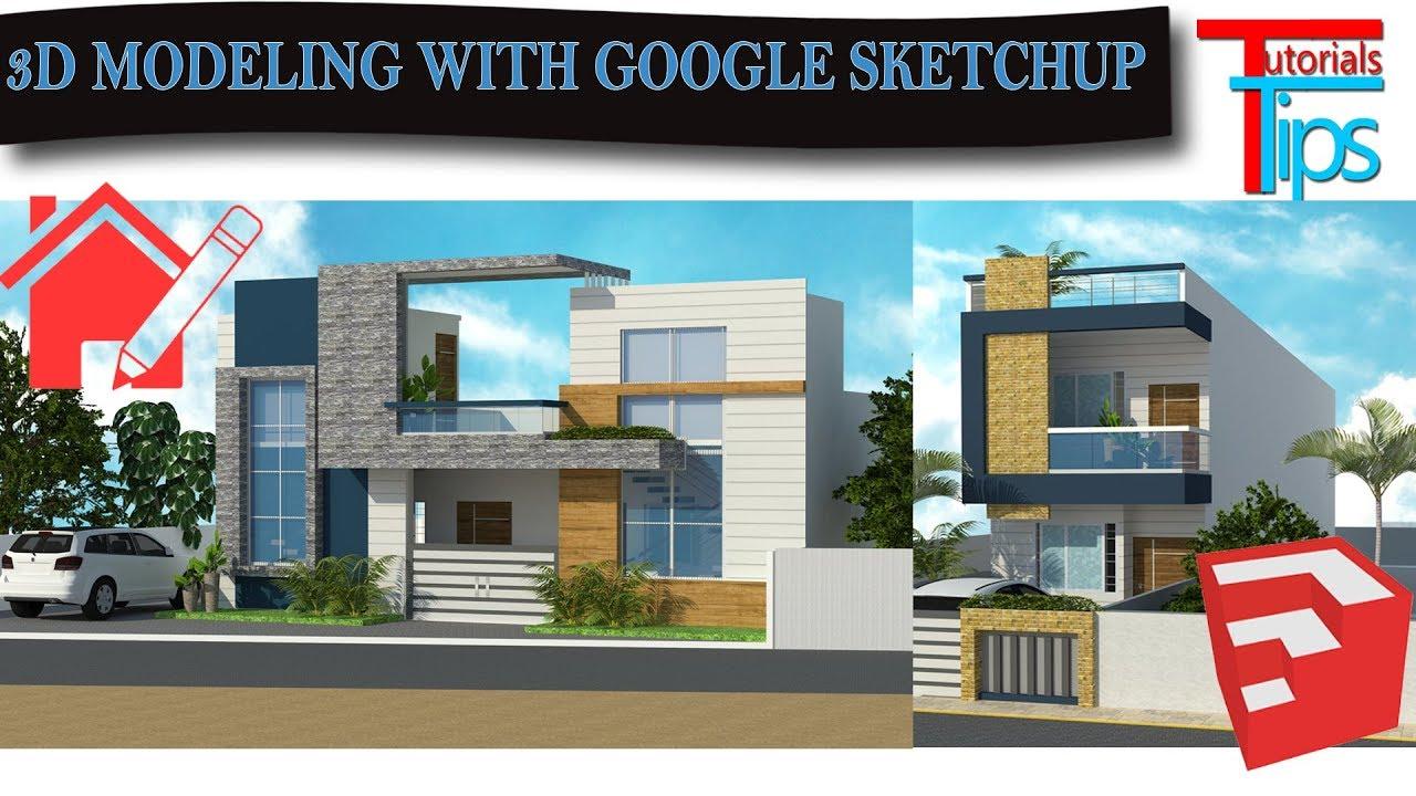 Google SketchUp basic introduction | 3d Modeling In google ...