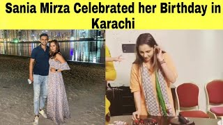 Sania Mirza Celebrated her birthday with her husband during IPL match in Karachi