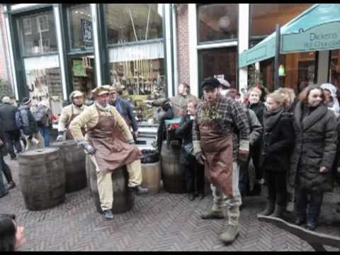 charles dickens festival at deventer, netherlands - youtube