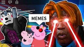 ROBLOX Piggy Funny Moments 2 (MEMES)