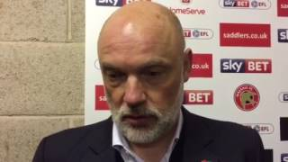 Uwe Rosler on Walsall win | Post Match