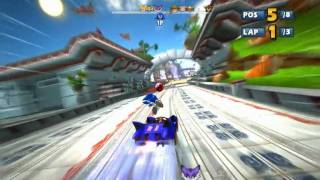 Sonic & Sega All-stars Racing - PC gameplay