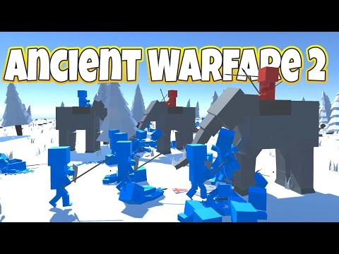 Totally Accurate Ancient Warfare Simulator! - Let's Play Ancient Warfare 2 Gameplay