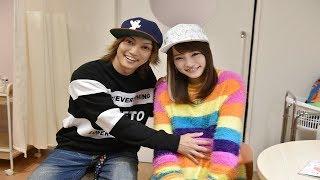 元AKB48で女優の川栄李奈(22)と「ゴールデンボンバー」の喜矢...
