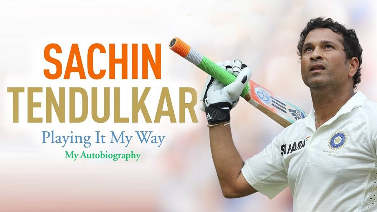 sachin tendulkar's autobiography: playing it my way new book release