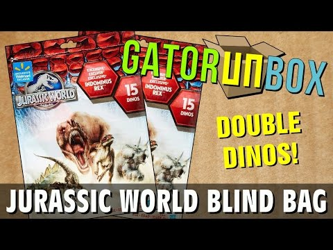 Jurassic World Blind Bag | GatorUNbox