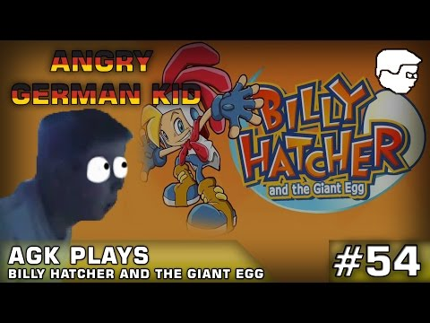AGK Episode #54: AGK Plays Billy Hatcher And The Giant Egg
