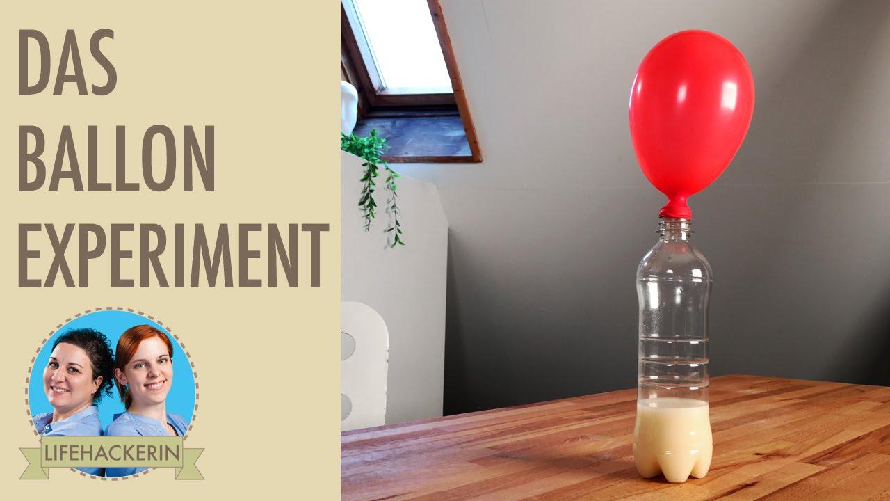 ballon aufblasen ohne puste ballon steigen lassen ohne helium geht das experiment youtube. Black Bedroom Furniture Sets. Home Design Ideas