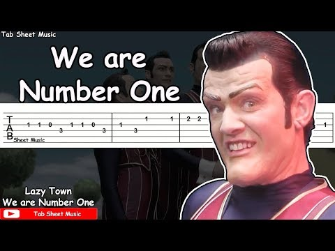 """""""We are Number One"""" Guitar Tutorial"""