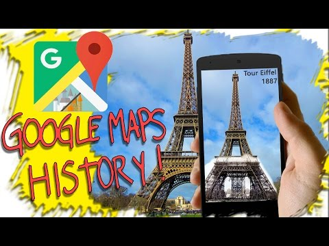 A TRAVEL TIME APP! - Google Maps History