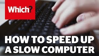 How to speed up your slow computer