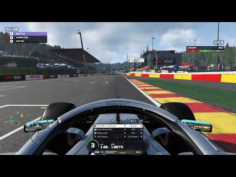 F1 2019 - Spa - Belgium - short 5 lap race