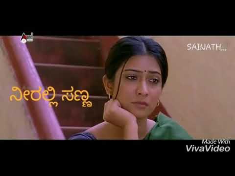Neeralli sanna hani Kannada sad song best whatsapp status