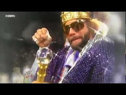 Macho Man Randy Savage Tribute - WWE Raw May 23rd 2011
