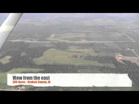 Prince Family Farm Aerial Tour - Keokuk County, IA