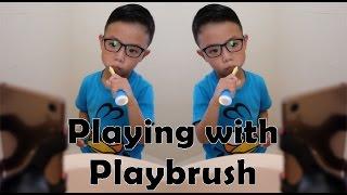 Playing while brushing your teeth? #Playbrush #SampleStore