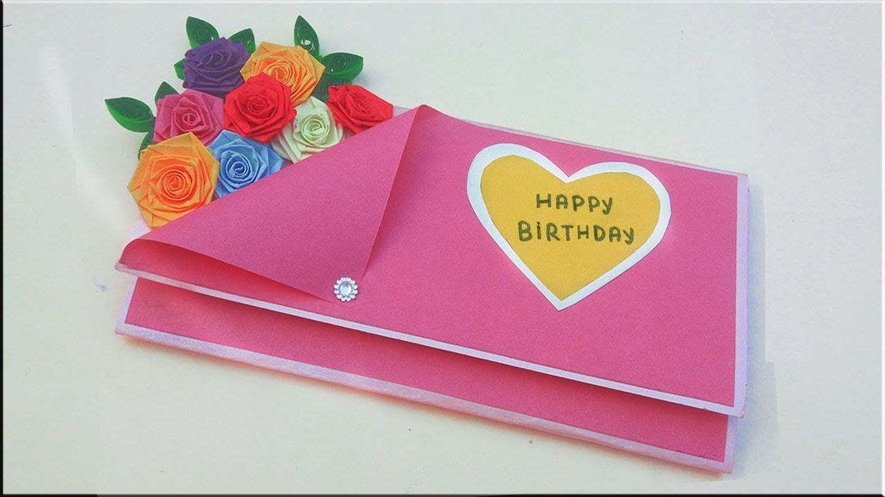 Episode 7 : Birthday Card  Happy Birthday Card How to make Birthday  cards #PaperQuillingArt