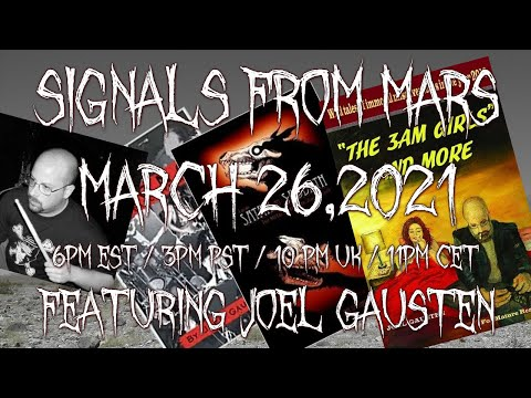 Signals From Mars Presented By Mars Attacks Podcast - March 26th, 2021