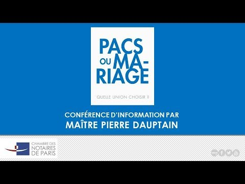 Conference Pacs Mariage Quelle Union Choisir Youtube