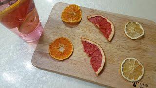 건조기 없이 에어프라이어로 과일칩 만들기 | 말린 과일…