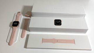 Apple Watch Series 5 Unboxing: Gold! (Aluminum Case 40mm)