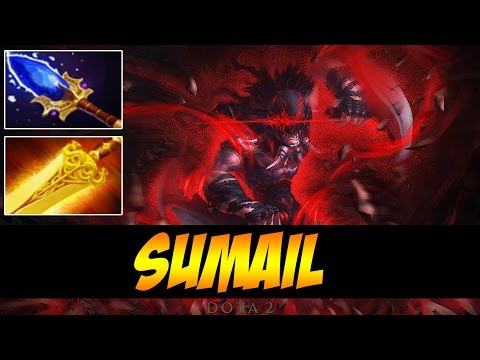 SumaiL Plays Bloodseeker WITH AGHANIM AND RADIANCE !
