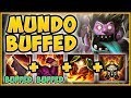 UHH RIOT?? MUNDO'S NEW BUFFED DAMAGE IS 100% UNFAIR! MUNDO SEASON 9 TOP GAMEPLAY! League of Legends